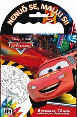 Travel colouring books Cars