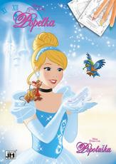 Colouring books A4 Cinderella