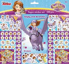 Super sticker sets 500 pcs Sofia the First