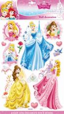 3D wall decoration stickers Disney Princess