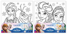 Canvas art sets Frozen