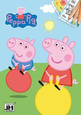 Colouring books A5+ Peppa Pig