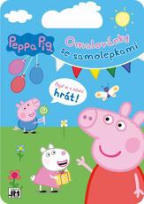 Colouring pads with stickers Peppa Pig