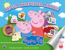 Reusable sticker album Peppa Pig
