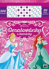 Col. pads with jewels Disney Princess