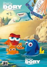 Colouring books A5+ Finding Dory