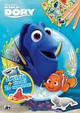 Colouring books A4+ Finding Dory