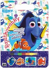 Colouring pads with stamps Finding Dory