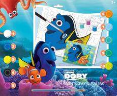 Paint.by number 420×297 Finding Dory
