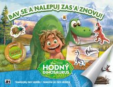 Reusable sticker album Good Dinosaur