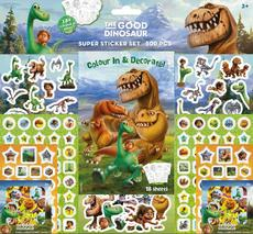 Super sticker sets 500 pcs Good Dinosaur