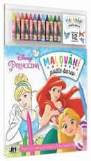 Paint by colour Disney Princess