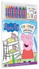 Paint by colour Peppa Pig