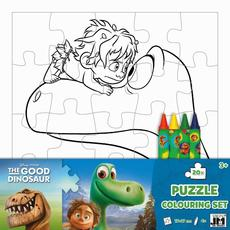 Colouring puzzle sets Good Dinosaur