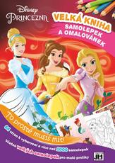 Mega book of col. & stickers Disney Princess