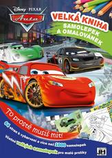 Mega book of col. & stickers Cars