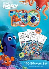 100 stickers holograph sets Finding Dory