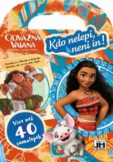 Dress up mini sticker books Vaiana