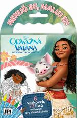 Travel colouring books Vaiana