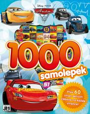 1000 stickers with activities Cars