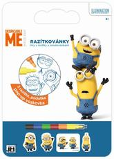 Colouring pads with stamps Minions