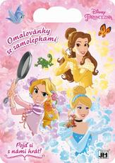 Colouring pads with stickers Disney Princess