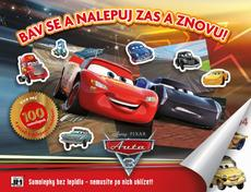 Reusable sticker album Cars