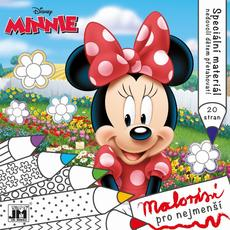 Bumpy lines colouring books Minnie