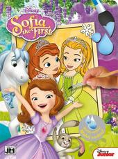 Paint with water color. books Sofia the First