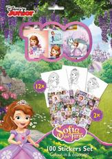100 stickers holograph sets Sofia the First