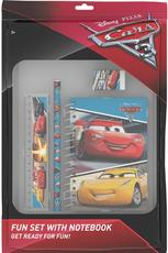 Fun packs with notepad Cars