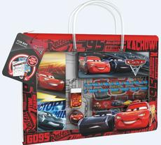 Fun stationery sets handbag Cars