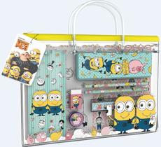 Fun stationery sets handbag Minions