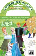 Travel colouring books Frozen