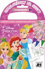 Travel colouring books Disney Princess