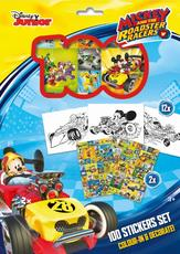 100 stickers holograph sets Mickey and the Roadster Racers