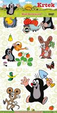 2D wall decoration stickers The Little Mole