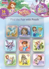 Find the pair games with pouch Sofia the First