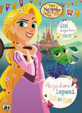 Mosaic sticker book Tangled