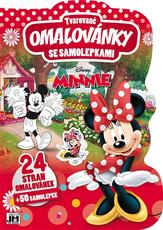 Shaped colouring books Minnie