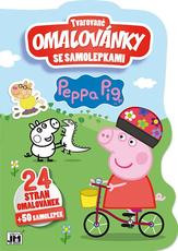 Shaped colouring books Peppa Pig