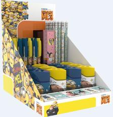 Writing implement box Minions