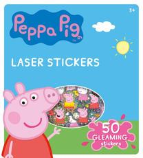 Super shiny stickers Peppa Pig