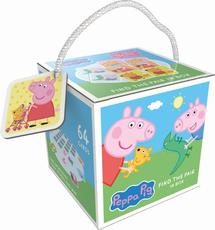 Memo game in box Peppa Pig