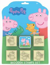 Stamps 5+1 sets Peppa Pig
