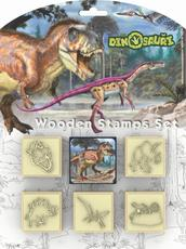 Stamps 5+1 sets Dinosaurs