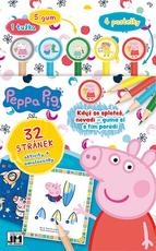 Activity books w/ erasers Peppa Pig