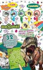 Activity books w/ erasers Dinosaurs