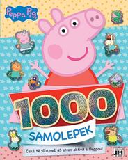 1000 stickers with activities Peppa Pig