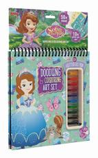 Colouring book w gel pens Sofia the First